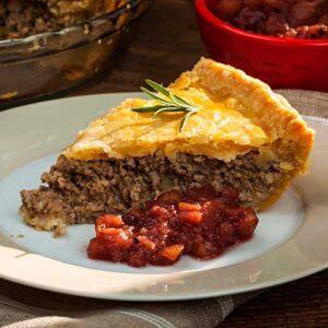 Tourtiere Gourmet Meat Pie